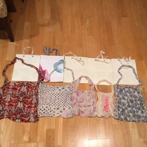 Anthropologie & Free People shopping bags (10)